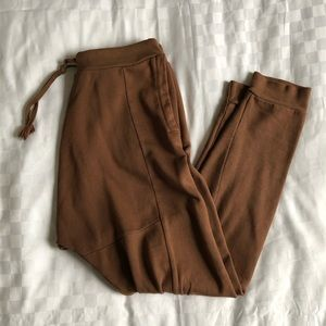 Other - Camel brown dropcrotch joggers 🇮🇹